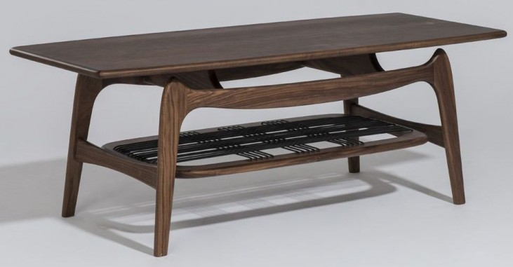 Modern Classics Michelle Walnut Coffee Table