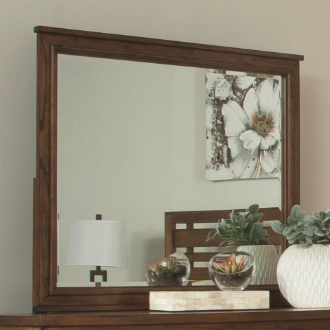 Cupertino Antique Amber Dresser Mirror