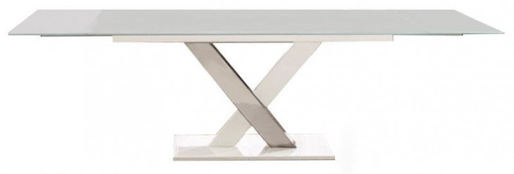 Cyrus Gray Extendable Dining Table