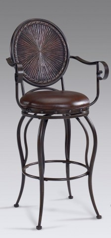 Wellington 24'' Swivel Counter Stool