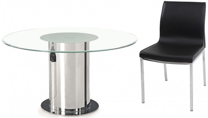 D206 Modern Round Dining Room Set