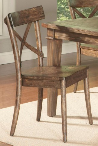 Coronado Weathered Pine Side Chair