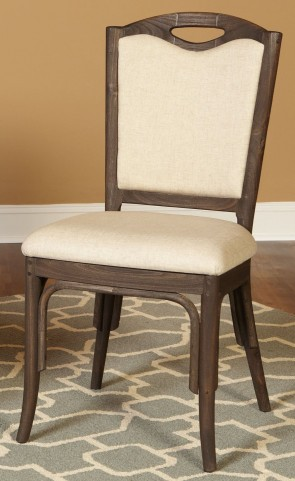 Coronado Chocolate Upholstered Side Chair Set of 2