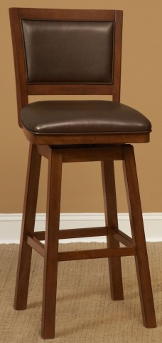 "Carnival Light Brown 30"" Barstool"
