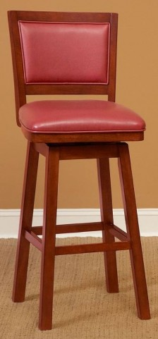"Carnival Red 24"" Counter Stool"