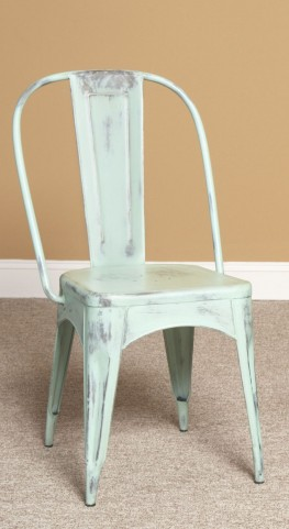 Timbuktu Turquoise Side Chair Set of 2