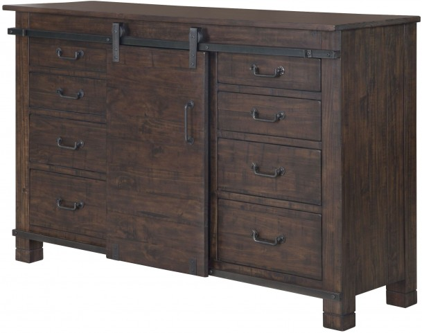 Pine Hill Warm Rustic Pine Server