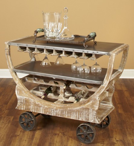Rustic Collectibles Beach Bar Trolley