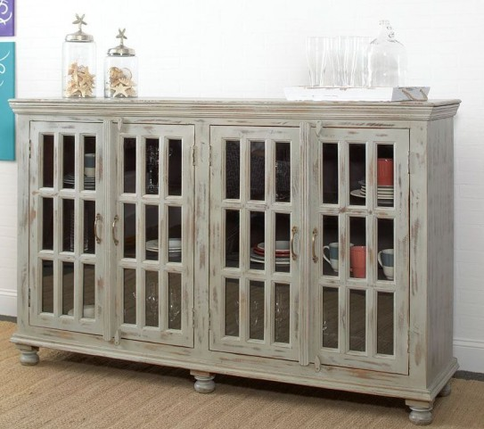 Rustic Collectibles 4 Door Sideboard