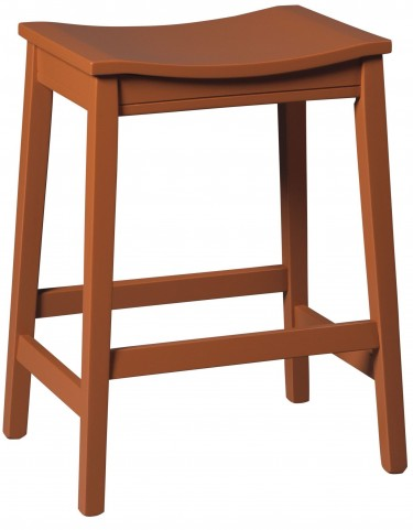 Bantilly Red Counter Stool Set Of 2