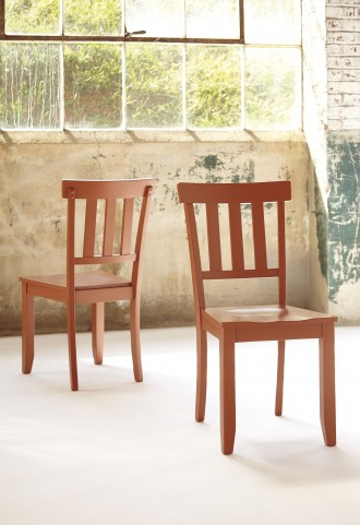 Bantilly Red Dining Room Chair Set Of 2