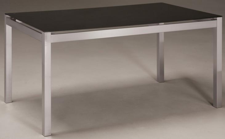 Baraga Black Rectangular Dining Room Table