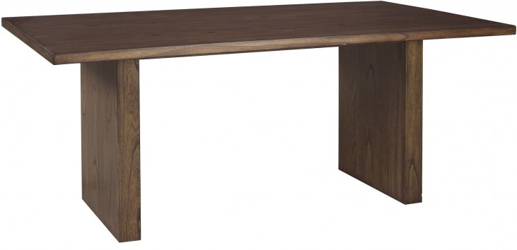 Zilmar Brown Rectangular Dining Table