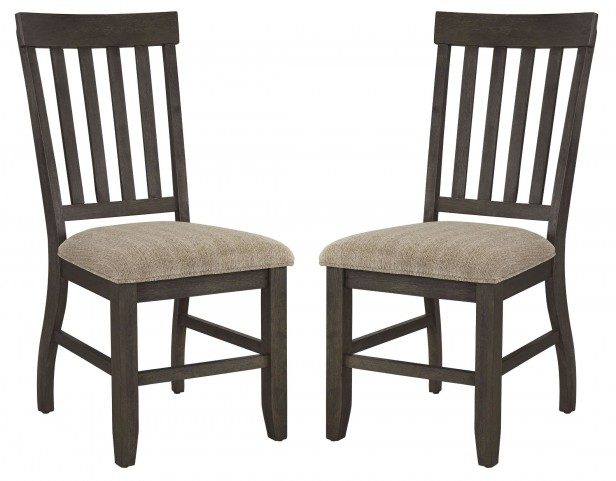 Dresbar Cream Dining Upholstered Side Chair Set Of 2