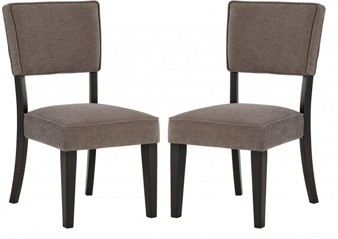 Gavelston Grey Dining Upholstered Side Chair Set of 2