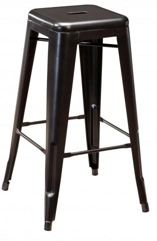 Pinnadel Tall Metal Stool Set of 4