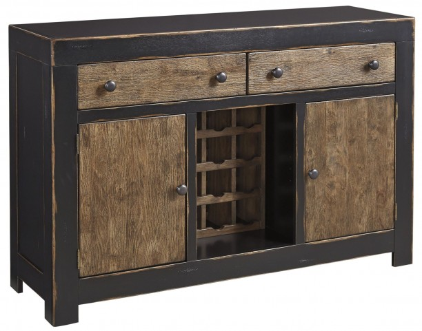 Emerfield Two-tone Brown Dining Room Server