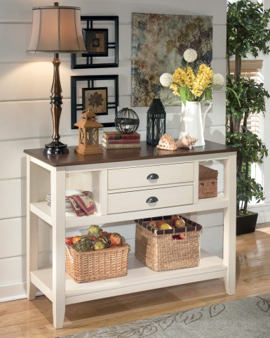Whitesburg 2 Drawer Server
