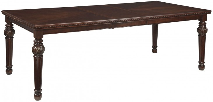 Leahlyn Brown Extendable Rectangular Dining Table