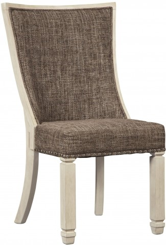 Bolanburg Two-Tone Dining Upholstered Side Chair Set of 2
