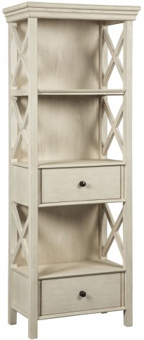 Bolanburg White and Gray Display Cabinet