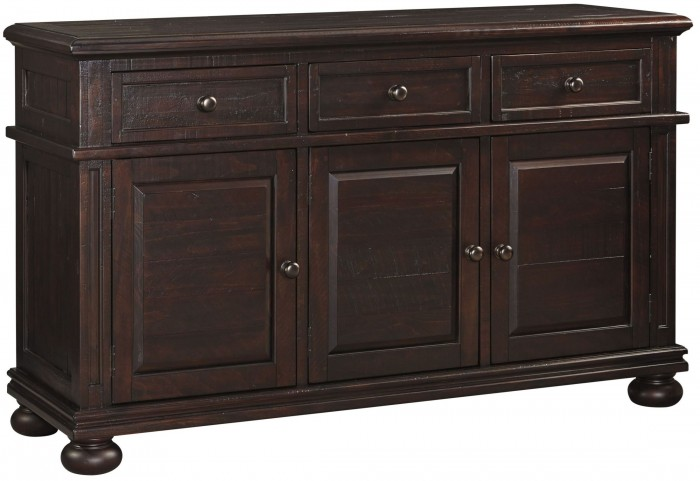 Gerlane Dark Brown Dining Room Server