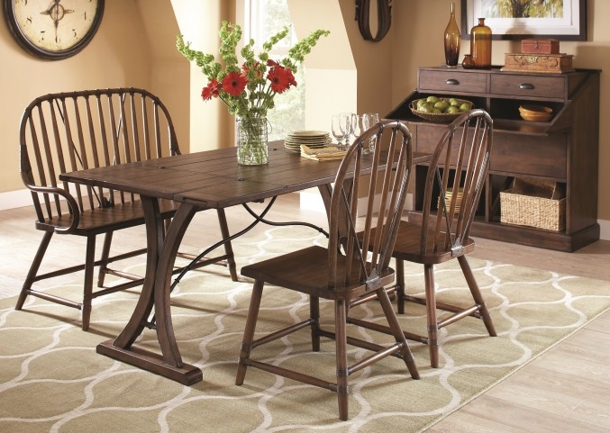 New Bedford Folding Top Dining Room Set