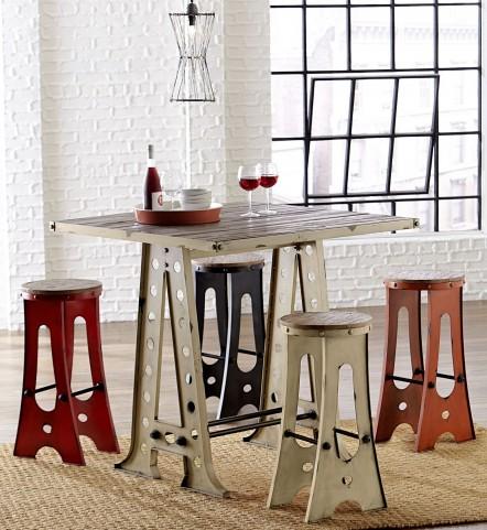 A-Frame Forge White Zen Pub Set