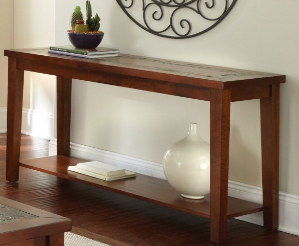 Davenport Medium Brown Sofa Table