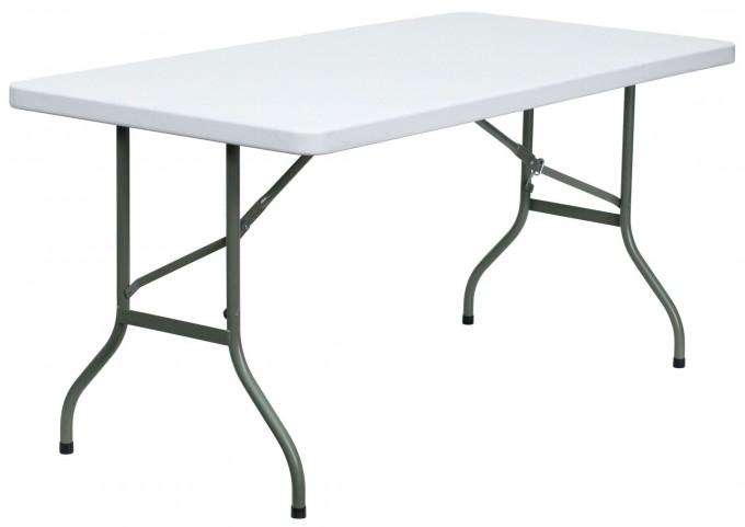 Blow Molded Plastic Folding Table