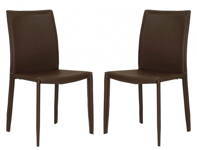 Ritz Daytona Brown Dining Chair Set of 2