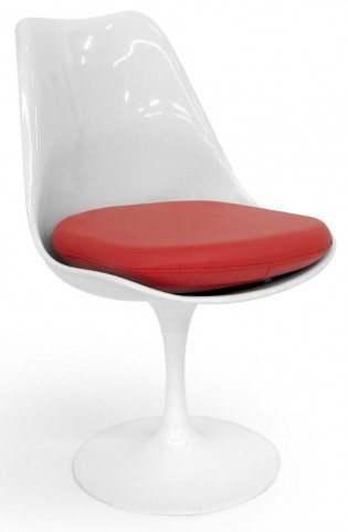 Euro Home Holland White Gloss Chair