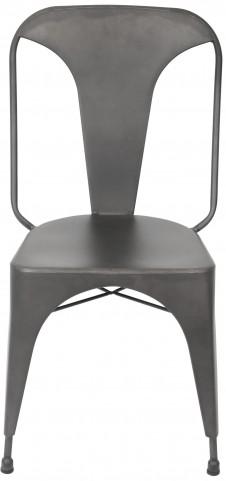 Pair of Austin Matte Grey Dining Chair
