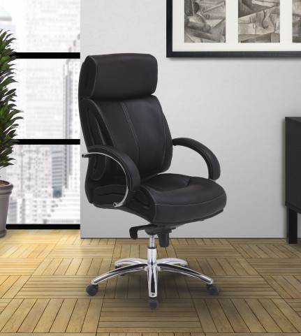 Parker Ebony Desk Chair