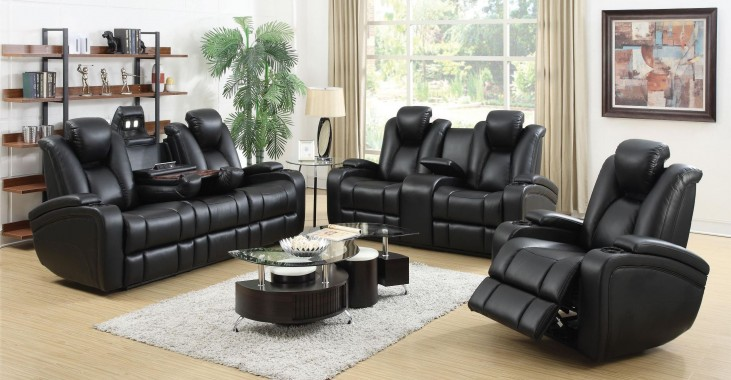 Delange Power Reclining Living Room Set