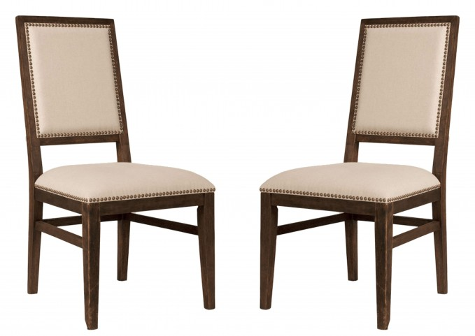 Dexter Rustic Java Dining Chair Set of 2