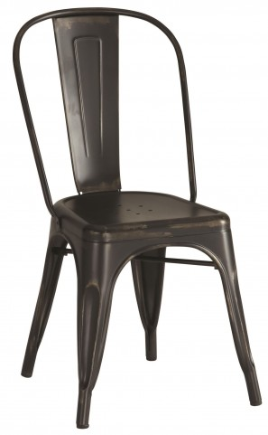 Bellevue Black Metal Dining Chair Set of 4