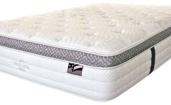 "Alyssum I 14"" King Euro Pillow Top Mattress"