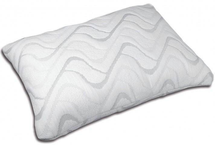 Gardenia White Gel-Infused Memory Foam Pillow