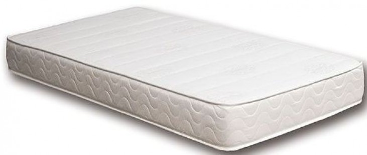 "Cosmos White 8"" Queen Memory Foam Mattress"