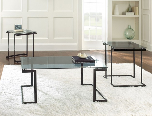 Dominic 3 Piece Occasional Table Set