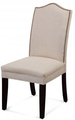 Camelback Nailhead Parson Chair