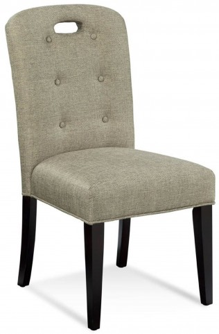 Bartlett Linen Tweed Slotback Parson Chair