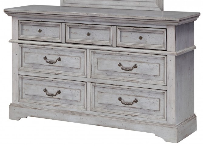 Stonebrook Antique Gray Dresser