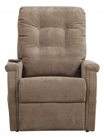 Montreal Coffee Fabric Lift Chair