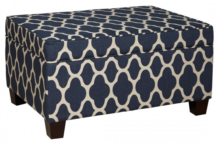 Jessa Strath Ocean Side Upholstered Ottoman