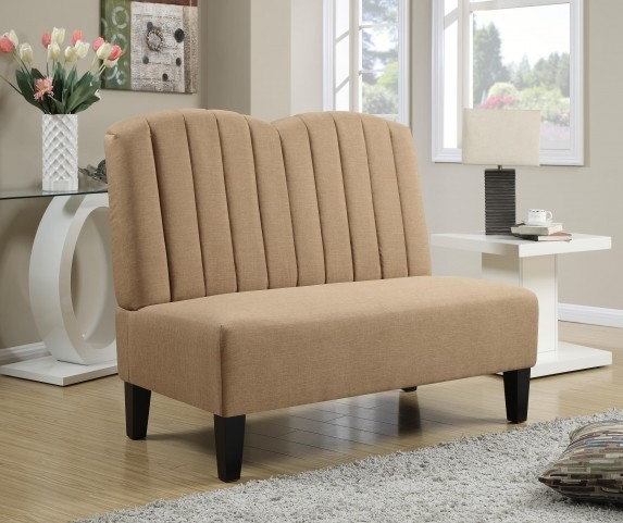 Hayden Honey Banquette Bench