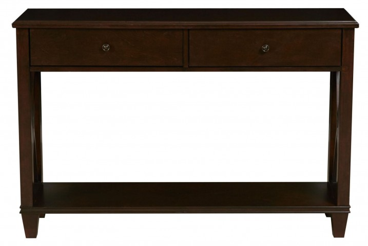 DS-2201-700 Dark Wood Console Table