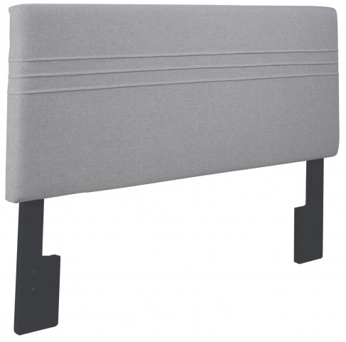 Hayden Silver King and Cal. King Upholstered Headboard