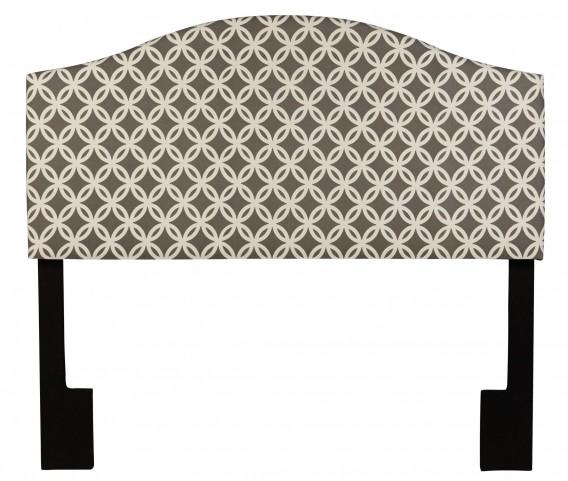 Full/Queen Upholstered Nopon gray Headboard